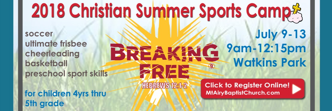 Christian Summer Sports Camp