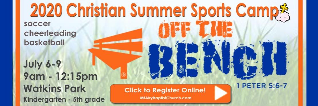 2020 Christian Sports Camp