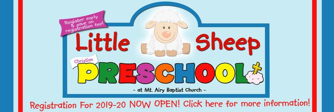 Little Sheep Preschool Registration