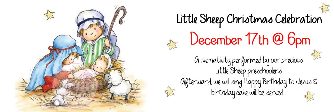 Little Sheep Christmas Program