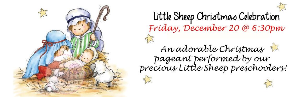 Little Sheep Christmas Program