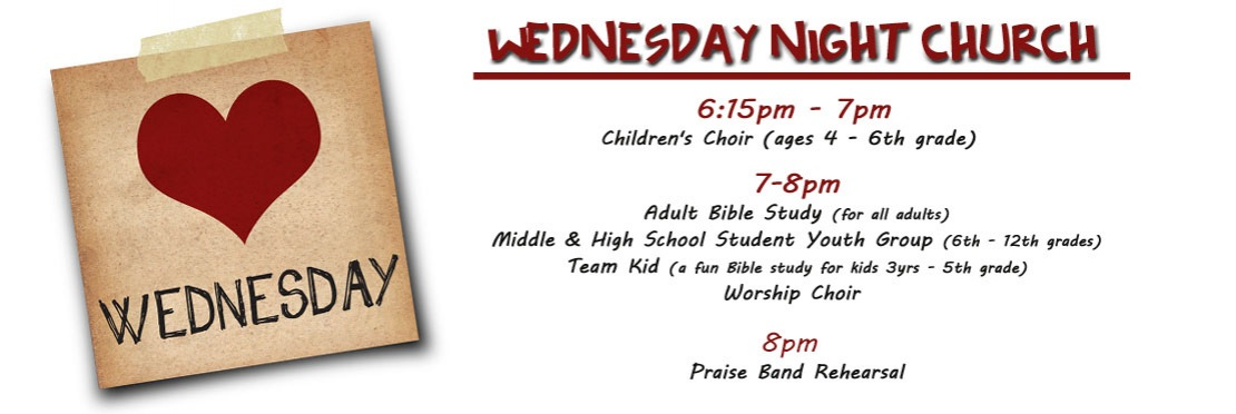Wednesday Night Church