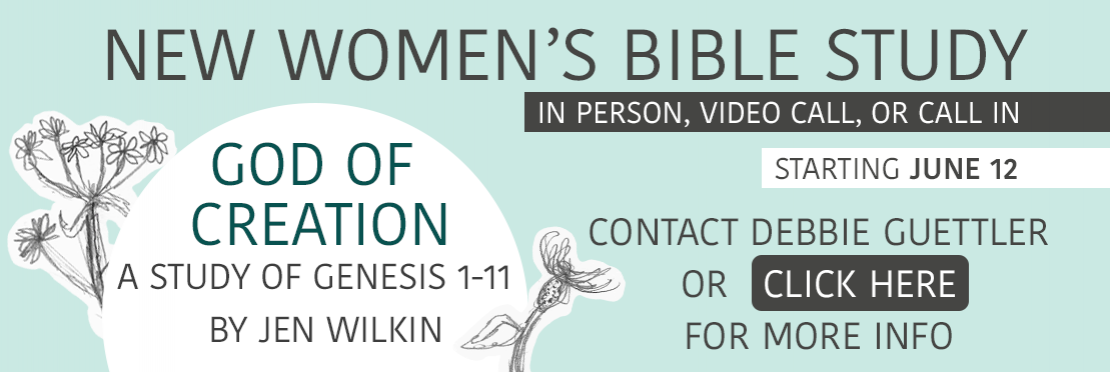 New Women's Bible Study - Click for more info
